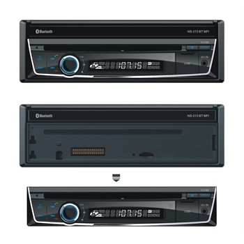 Autoradio NORAUTO SOUND NS-313 DVD BT MFI