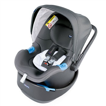 Seggiolino CHICCO OASIS 0 + UP BABECARE COOL GREY