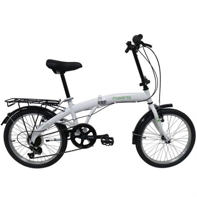 Bicicletta Folding Pieghevole.Biciclette Biciclette Pieghevoli Bici Pieghevole Denver 2722 20 Bianca